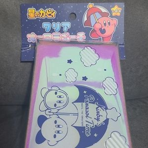 Nintendo Kirby Iridescent Holographic Pencil Pouch